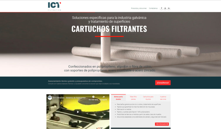 ICT Filtración